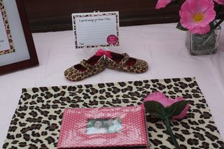 Save $ with a Pink & Brown Leopard Baby Shower - The Favor Maker