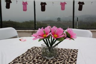 Leopardcenterpiece